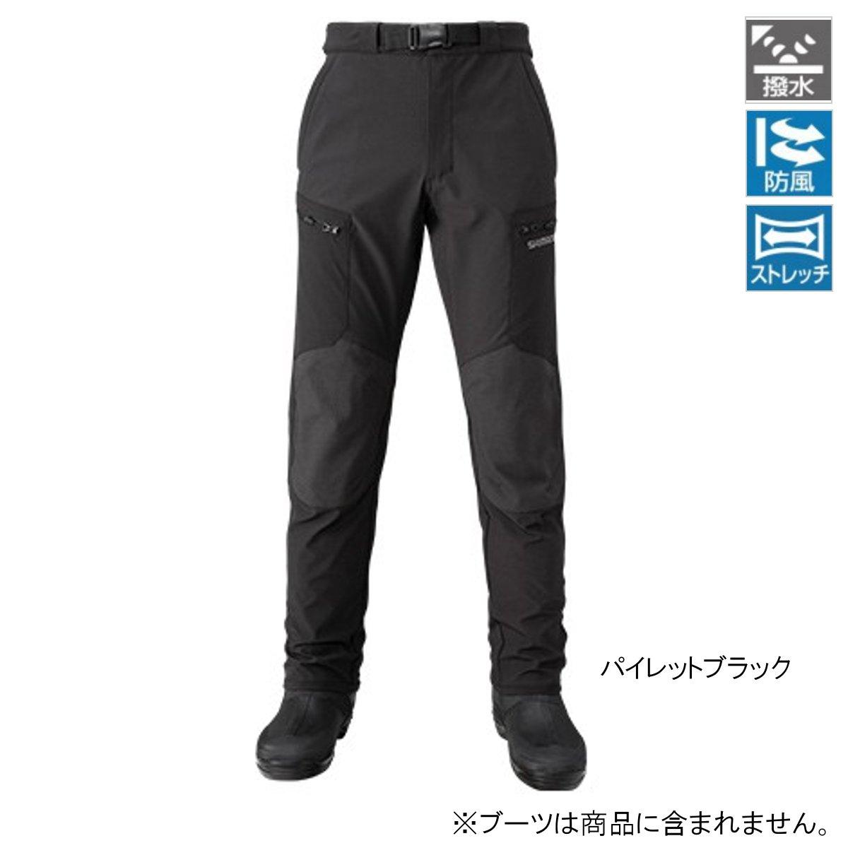 シマノ 防風ストレッチパンツ PA-045Q XL パイレットブラック(東日本店)