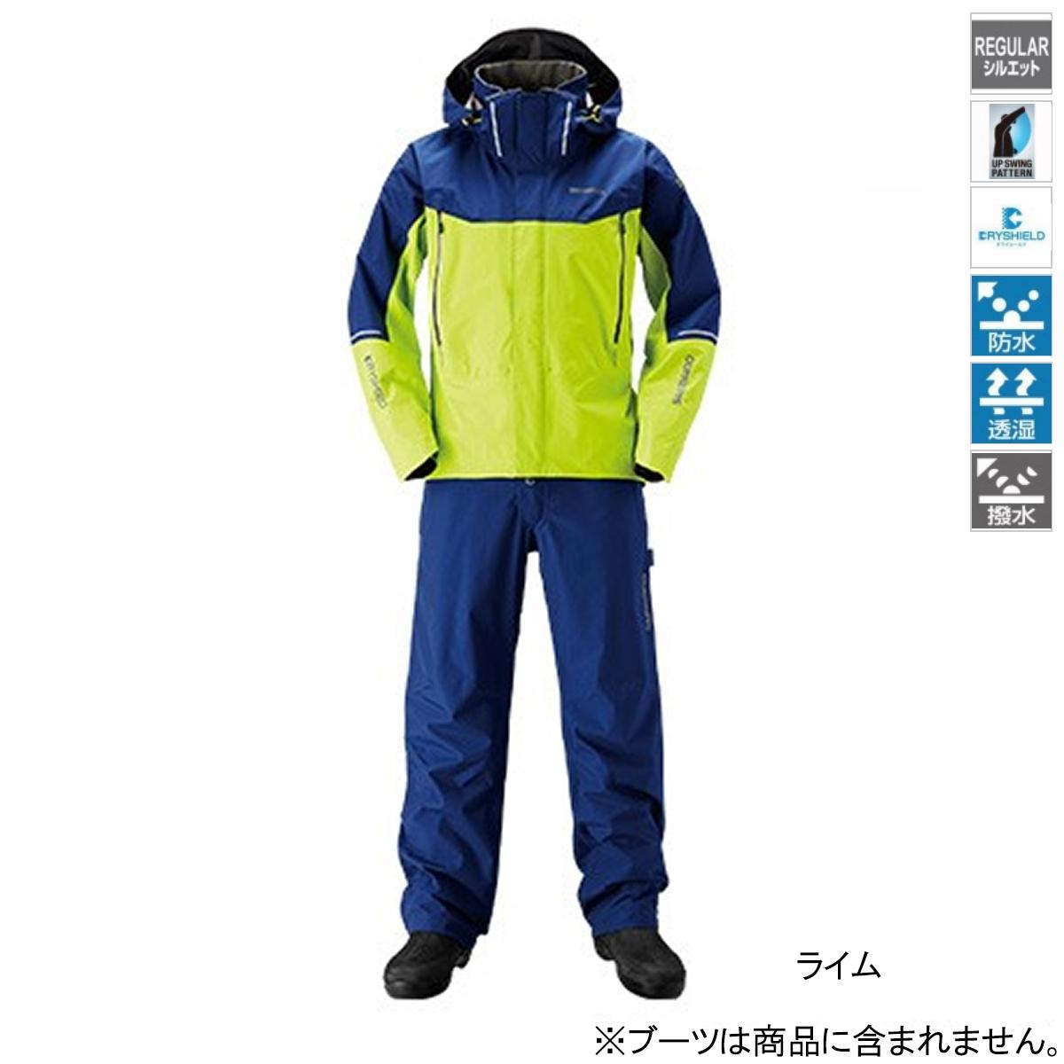 【4/1 24時間限定!エントリーで最大P31倍】シマノ DSアドバンススーツ RA-025S L ライム(東日本店)
