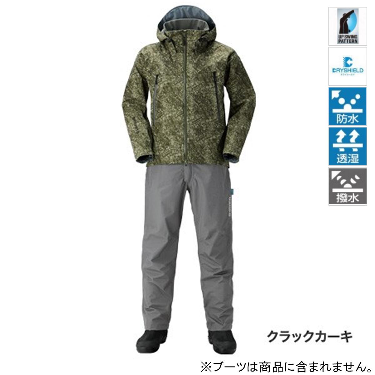 シマノ DSアドバンススーツ RA-025Q L クラックカーキ(東日本店)