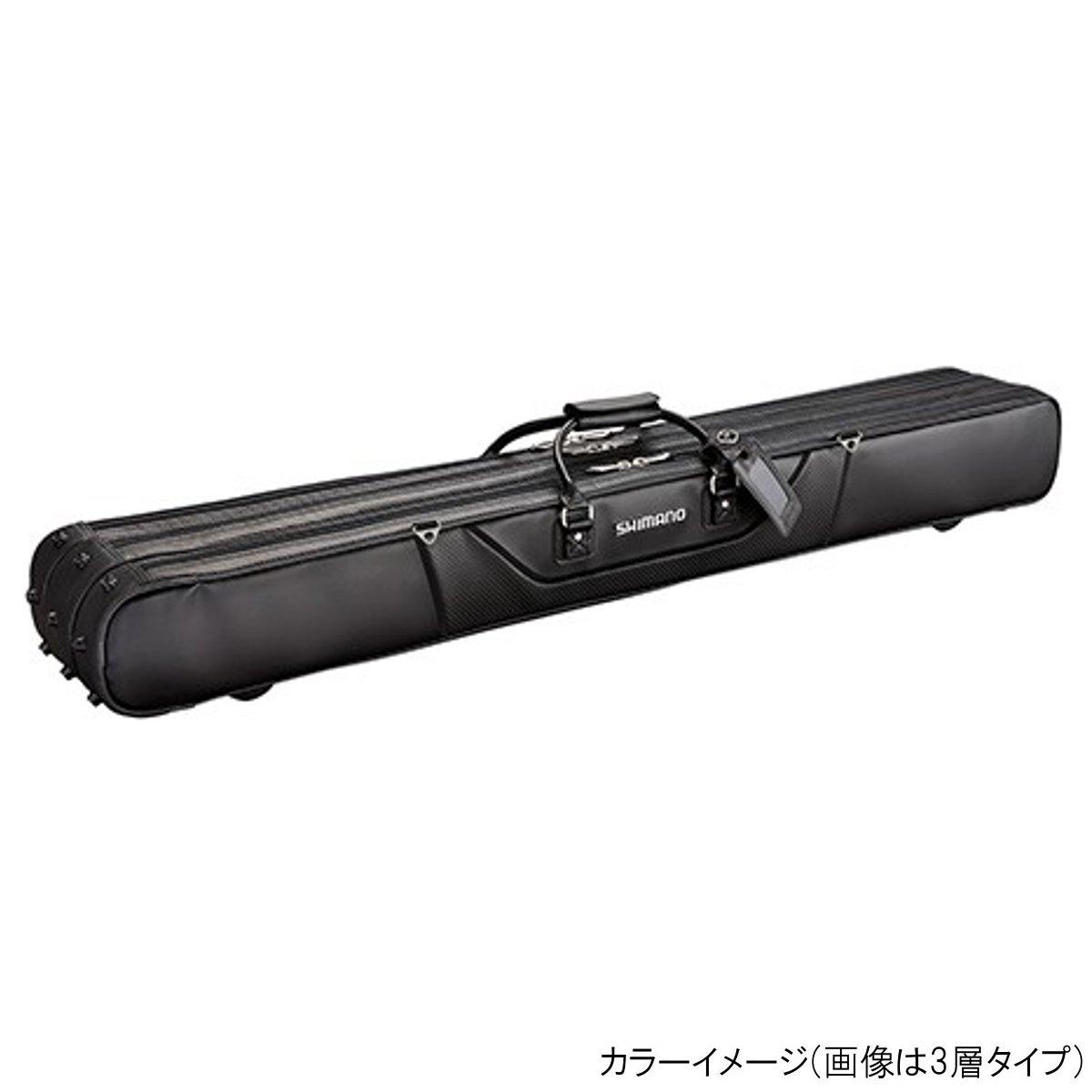 シマノ へらロッドケースXT RC-012Q 2層 カーボンブラック(東日本店)
