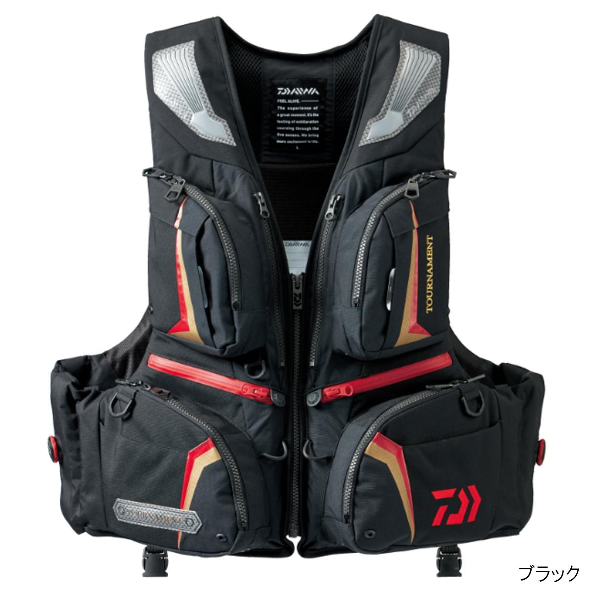 ダイワ トーナメント バリアテック サイバーフロート DF-3206 L ブラック(東日本店)