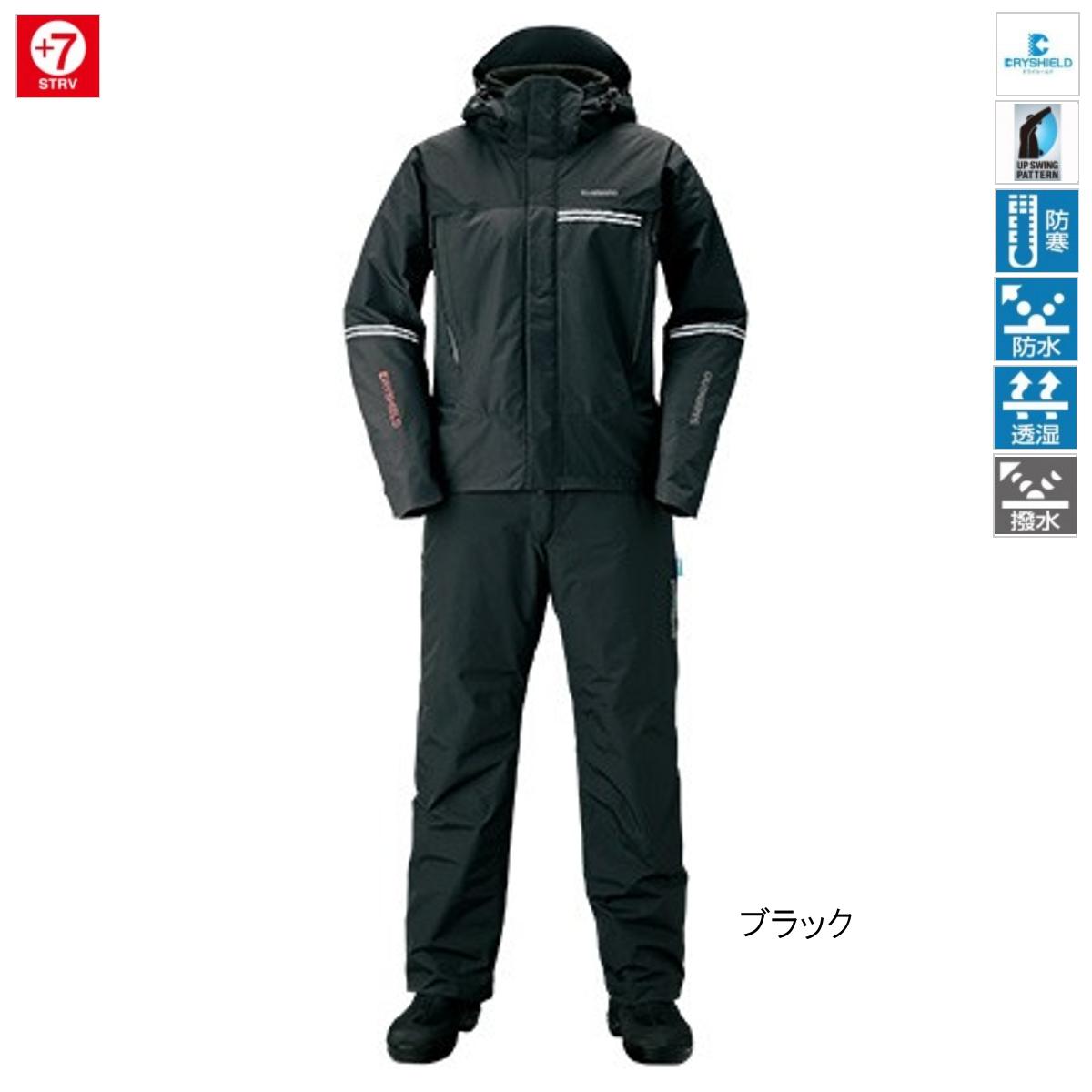 シマノ DSアドバンスウォームスーツ M ブラック [RB-025S](東日本店)