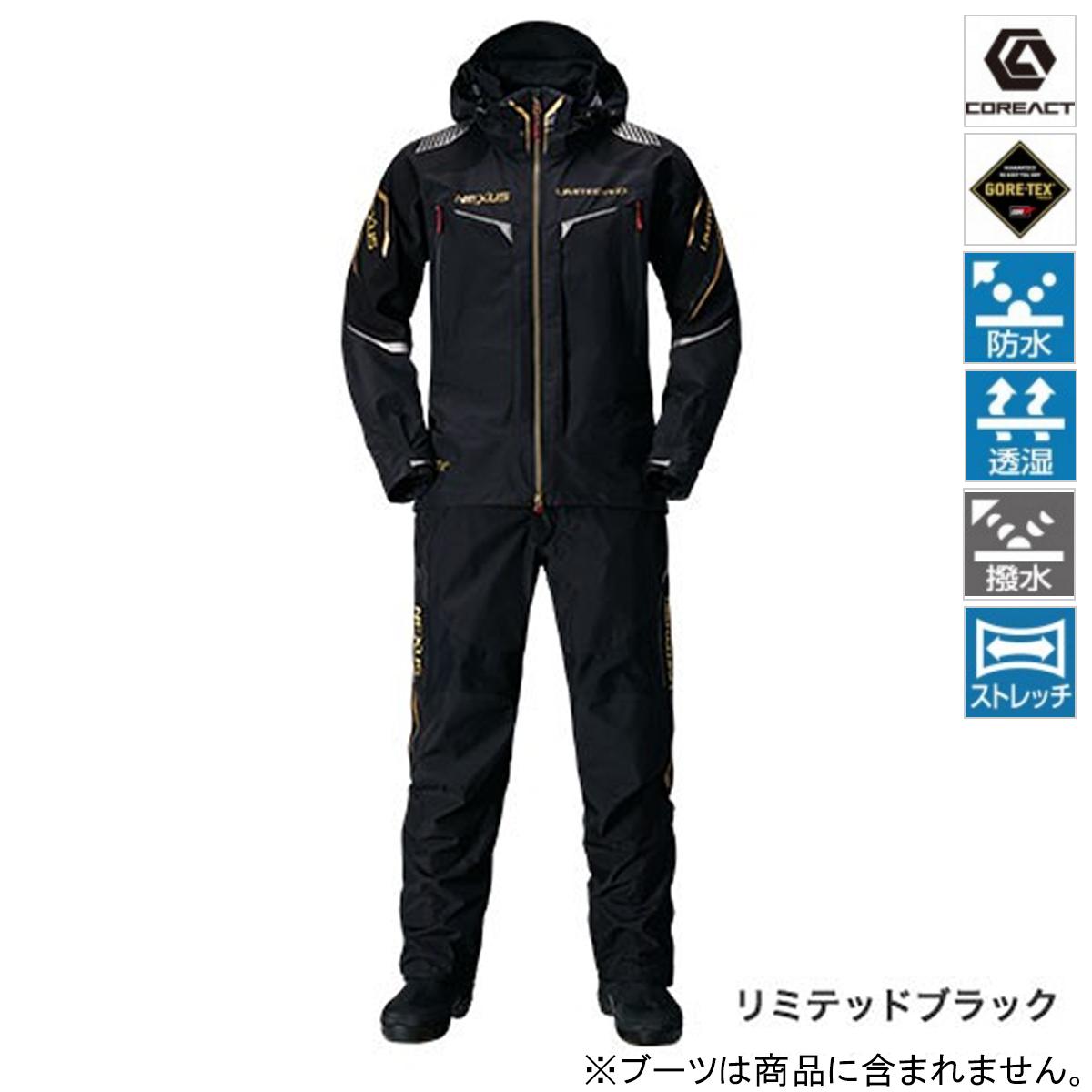 シマノ NEXUS GORE-TEX RAINSUIT LIMITED PRO RA-112Q 2XL リミテッドブラック(東日本店)