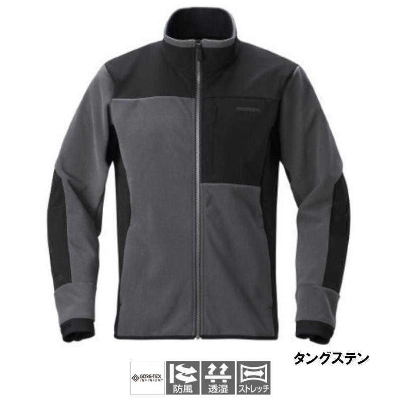 シマノ ゴアテックスインフィニウム オプティマルジャケット L タングステン [WJ-090T](東日本店)