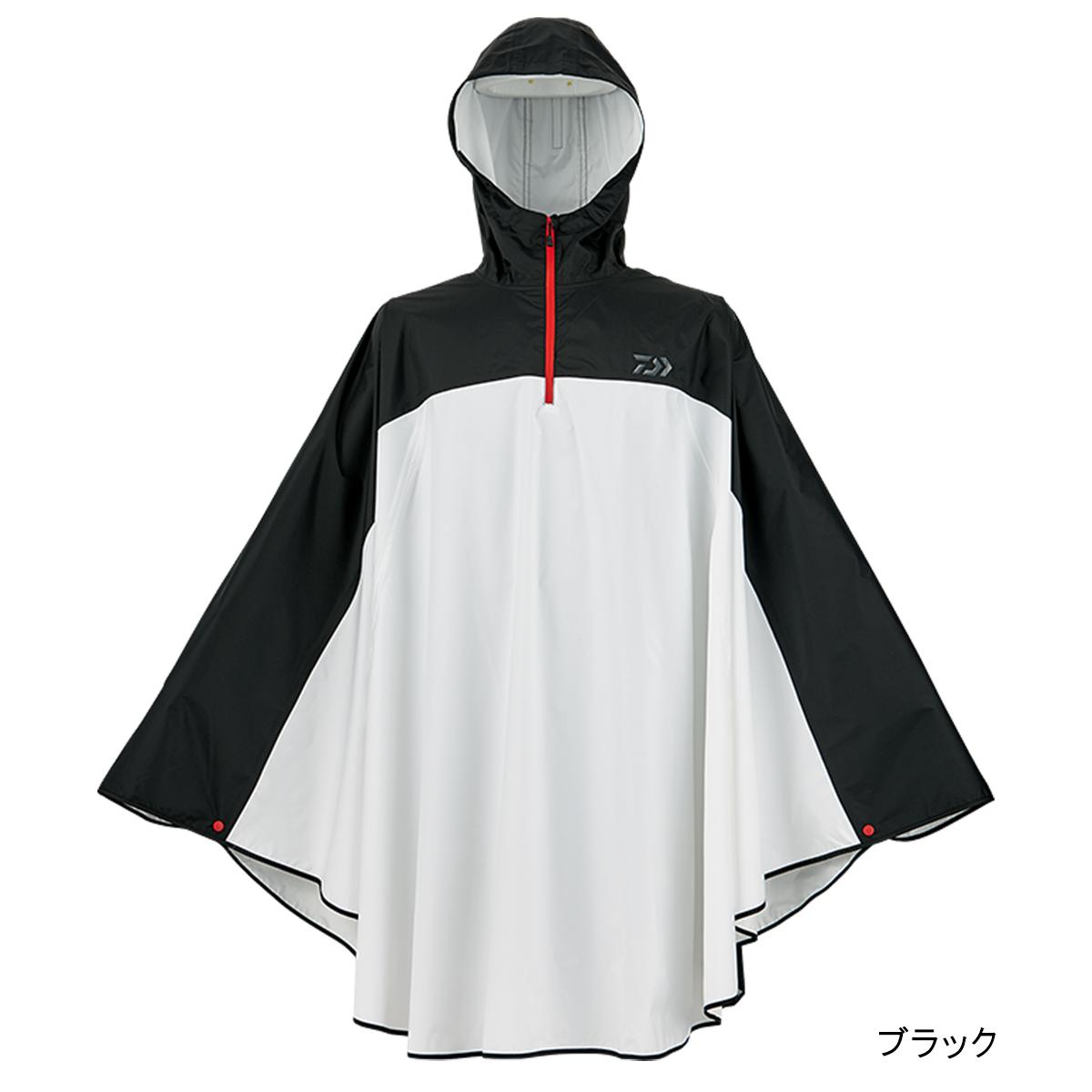 ダイワ レインマックス フィッシングポンチョ DR-52008 Lフリー ブラック(東日本店)