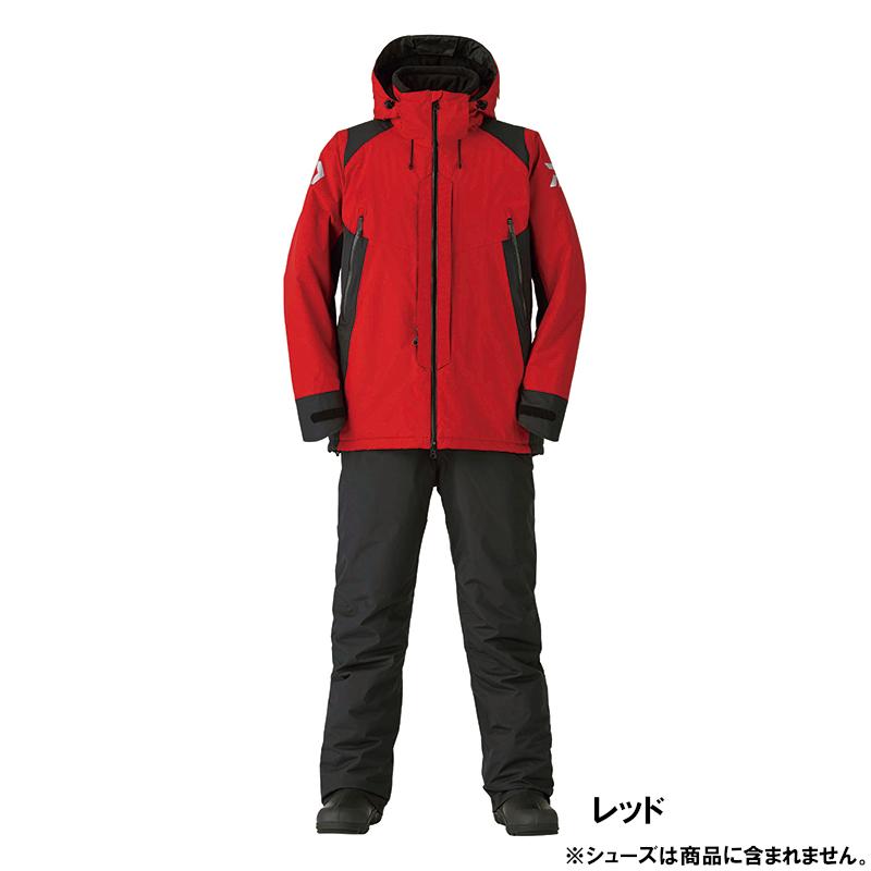 ダイワ DW-3420 レインマックス ハイパー コンビアップ ハイロフト ウィンタースーツ L レッド(東日本店)