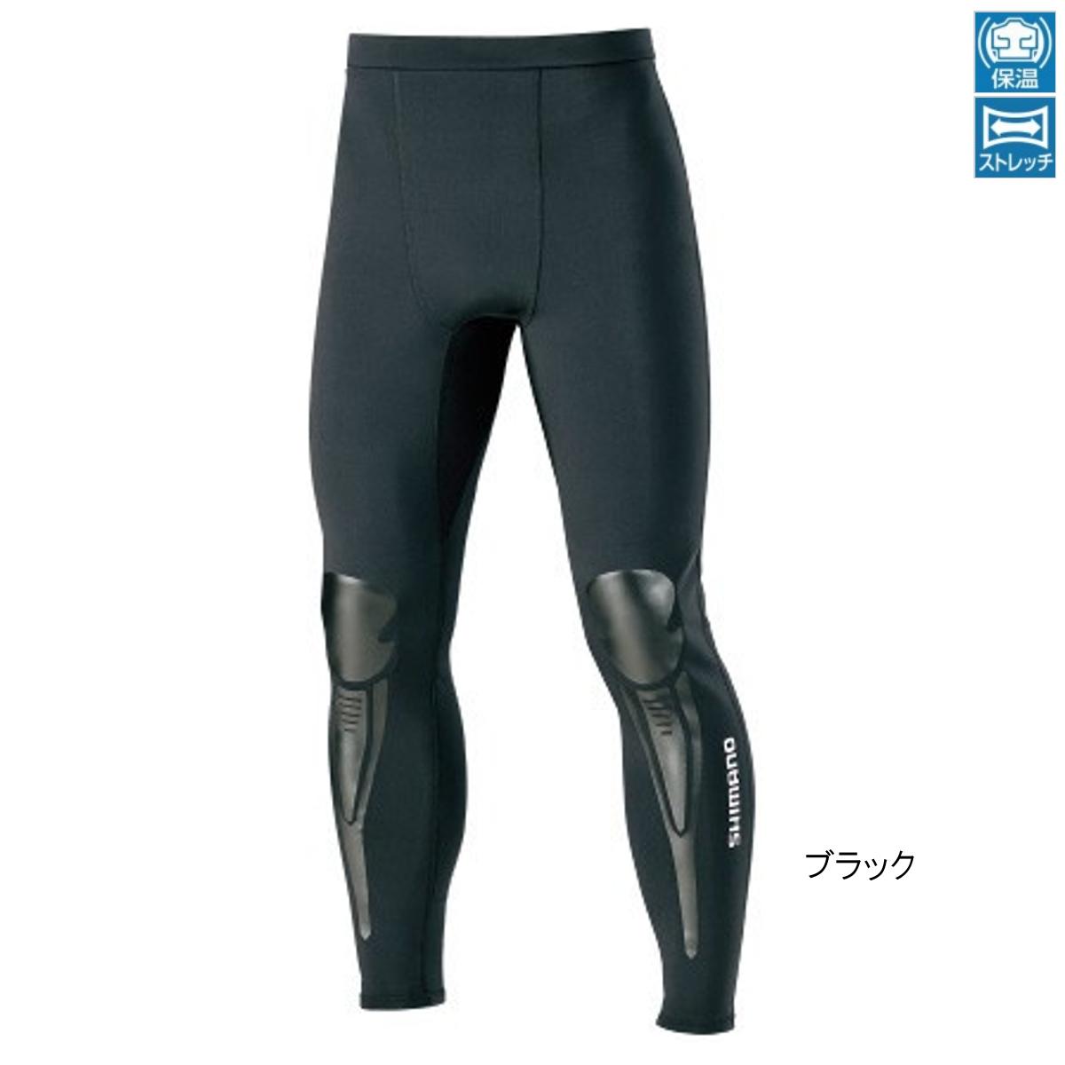 シマノ ライトクロロプレン プロテクトタイツ IN-087S L ブラック(東日本店)