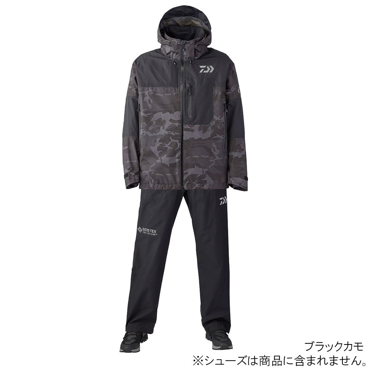 ダイワ ゴアテックス インフィニアム プロダクト レインスーツ DR-19020 L ブラックカモ(東日本店)