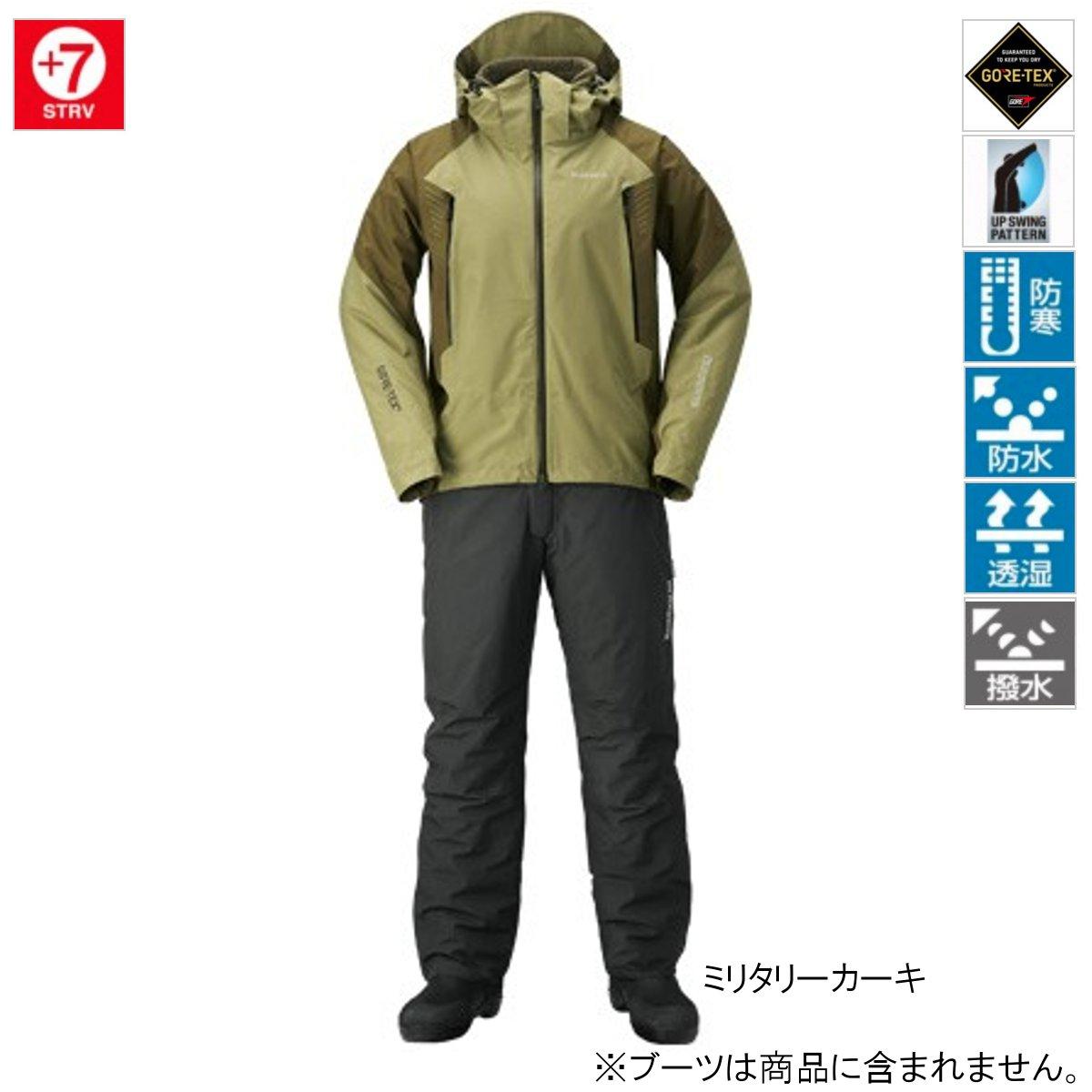 シマノ GORE-TEX ベーシックウォームスーツ RB-017R L ミリタリーカーキ(東日本店)