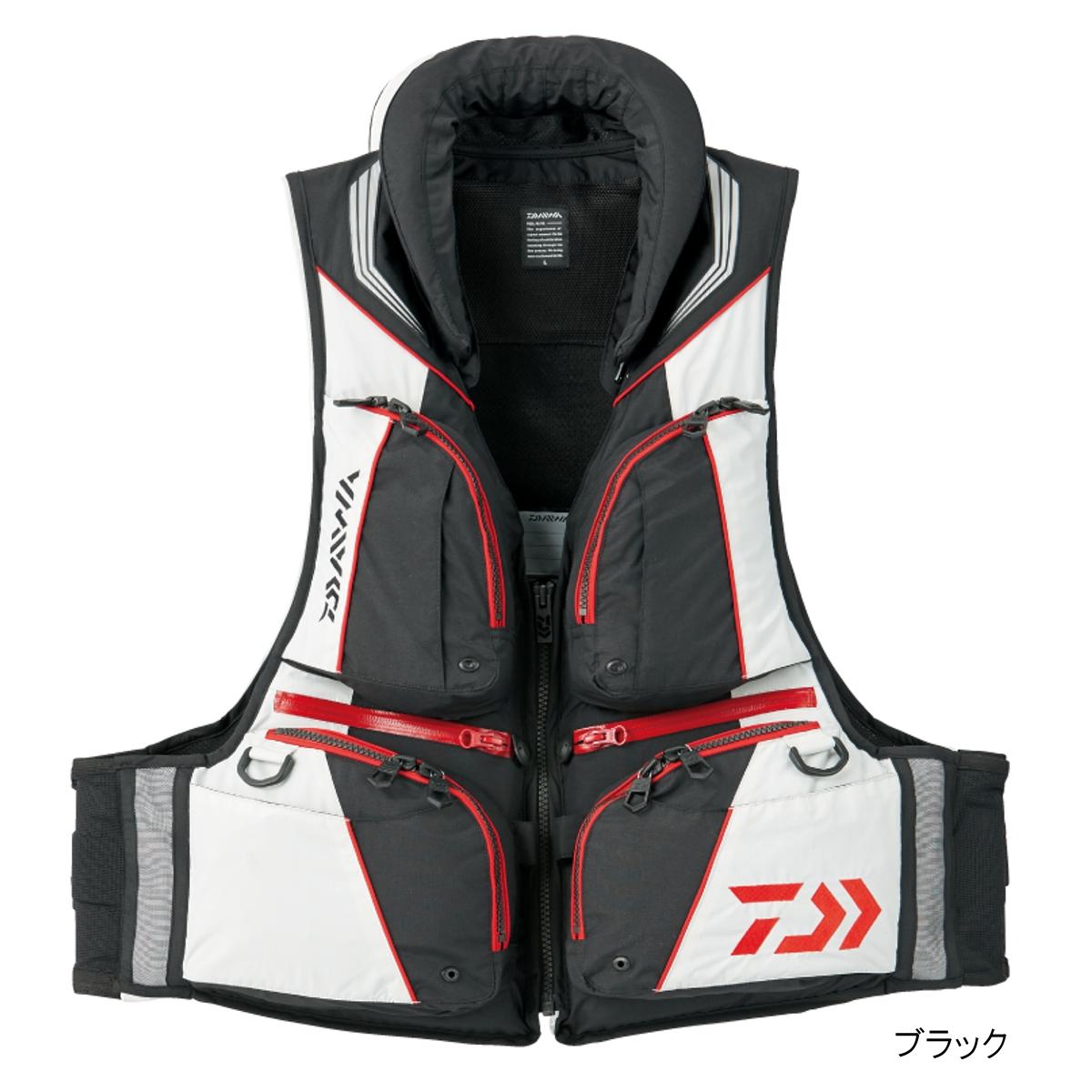 ダイワ トーナメント バリアテック 枕つきサイバーフロート DF-3508 2XL ブラック(東日本店)