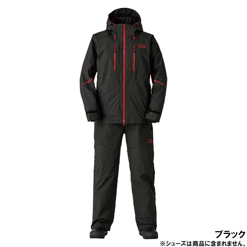ダイワ DW-9020 PVCオーシャンサロペット ウィンタースーツ 2XL ブラック(東日本店)
