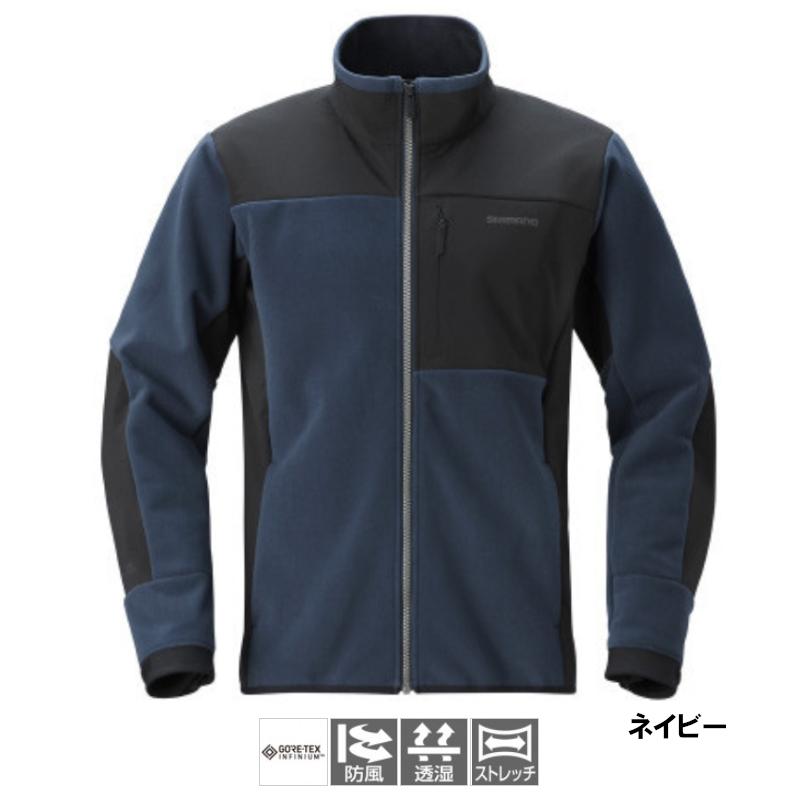 シマノ ゴアテックスインフィニウム オプティマルジャケット L ネイビー [WJ-090T](東日本店)