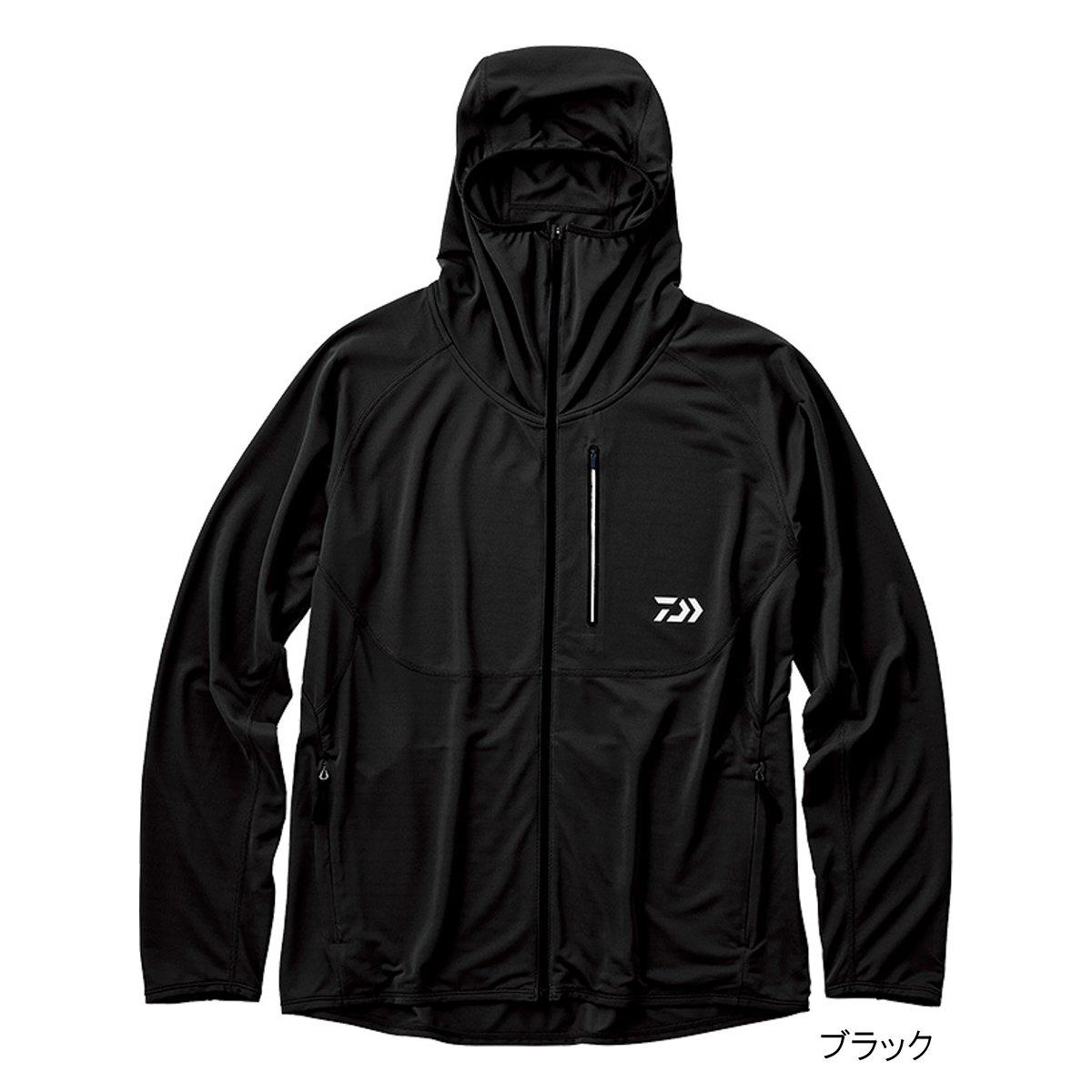 ダイワ アクティブフルジップパーカ DE-36009 L ブラック(東日本店)