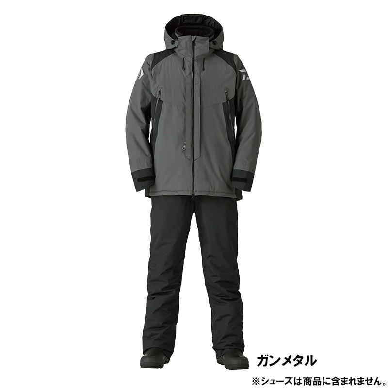ダイワ DW-3420 レインマックス ハイパー コンビアップ ハイロフト ウィンタースーツ XL ガンメタル(東日本店)