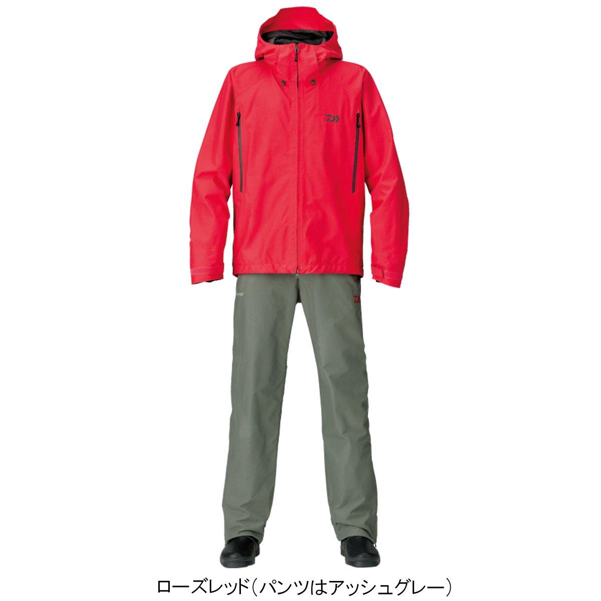 ダイワ ゴアテックス プロダクト レインスーツ DR-1607 XL ローズレッド(東日本店)
