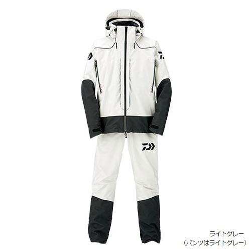 ダイワ ゴアテックス プロダクト コンビアップレインスーツ DR-1506 L ライトグレー(東日本店)