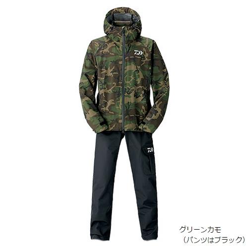 ダイワ レインマックス レインスーツ DR-3306 M グリーンカモ(東日本店)