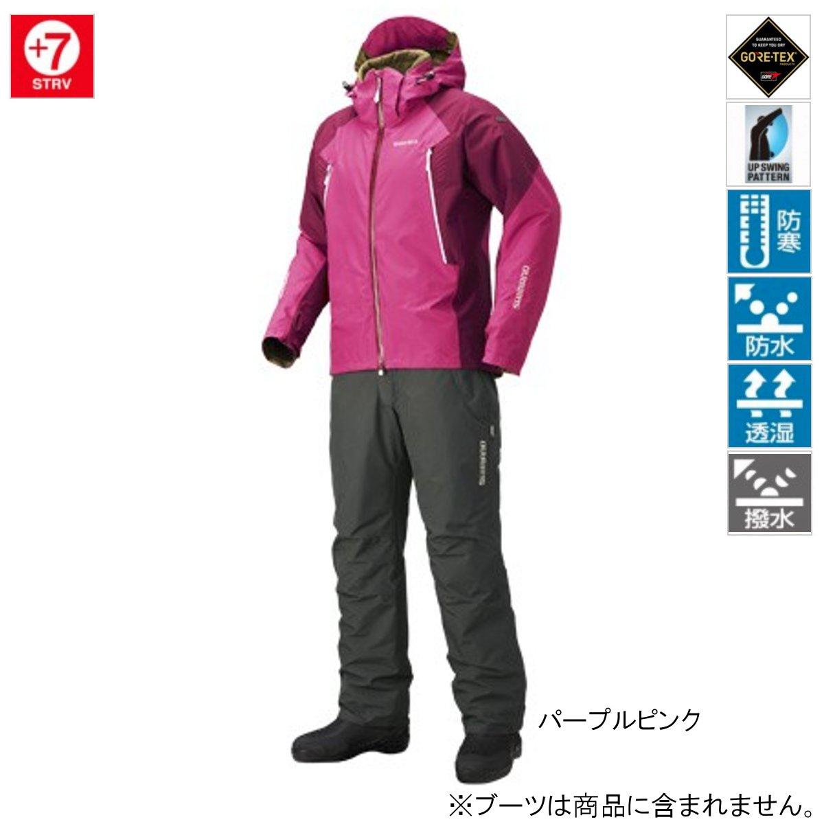 シマノ GORE-TEX ベーシックウォームスーツ RB-017R L パープルピンク(東日本店)