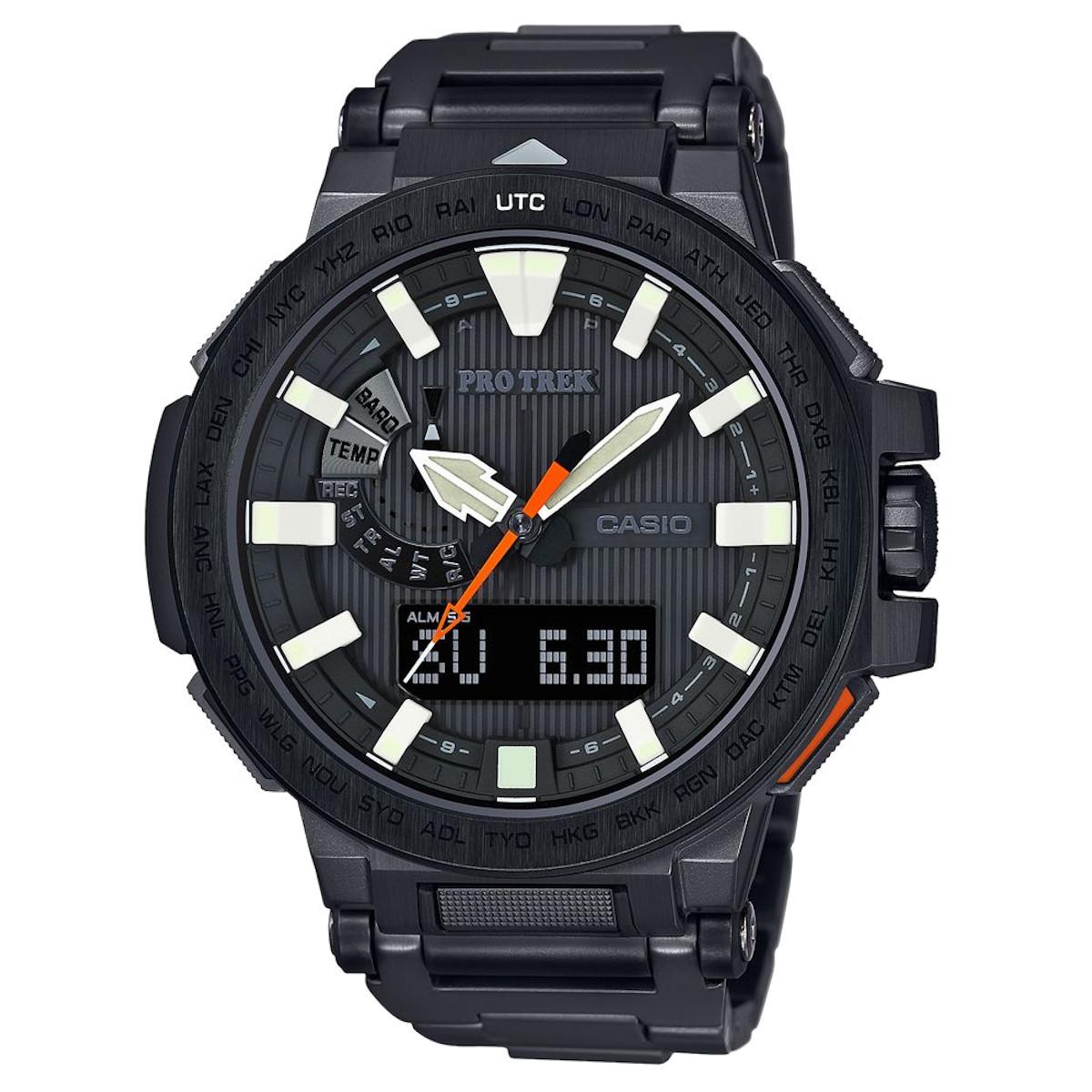 カシオ計算機(CASIO) プロトレック マナスル PRX-8000YT-1JF (高機能腕時計/登山/釣り/アウトドア/キャンプ)※メーカーお取り寄せ商品