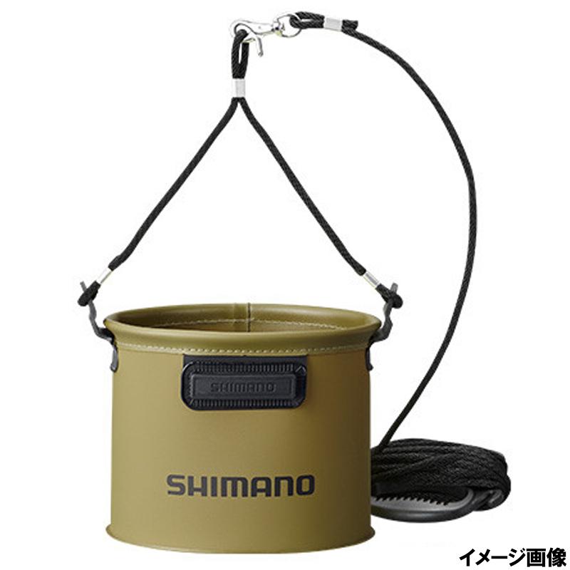 シマノ 水汲みバッカン 19cm カーキ [BK-053Q]