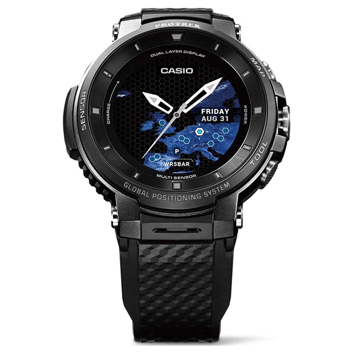 カシオ 腕時計 スマートウォッチ PRO TREK Smart WSD-F30-BK ブラック(東日本店)【同梱不可】