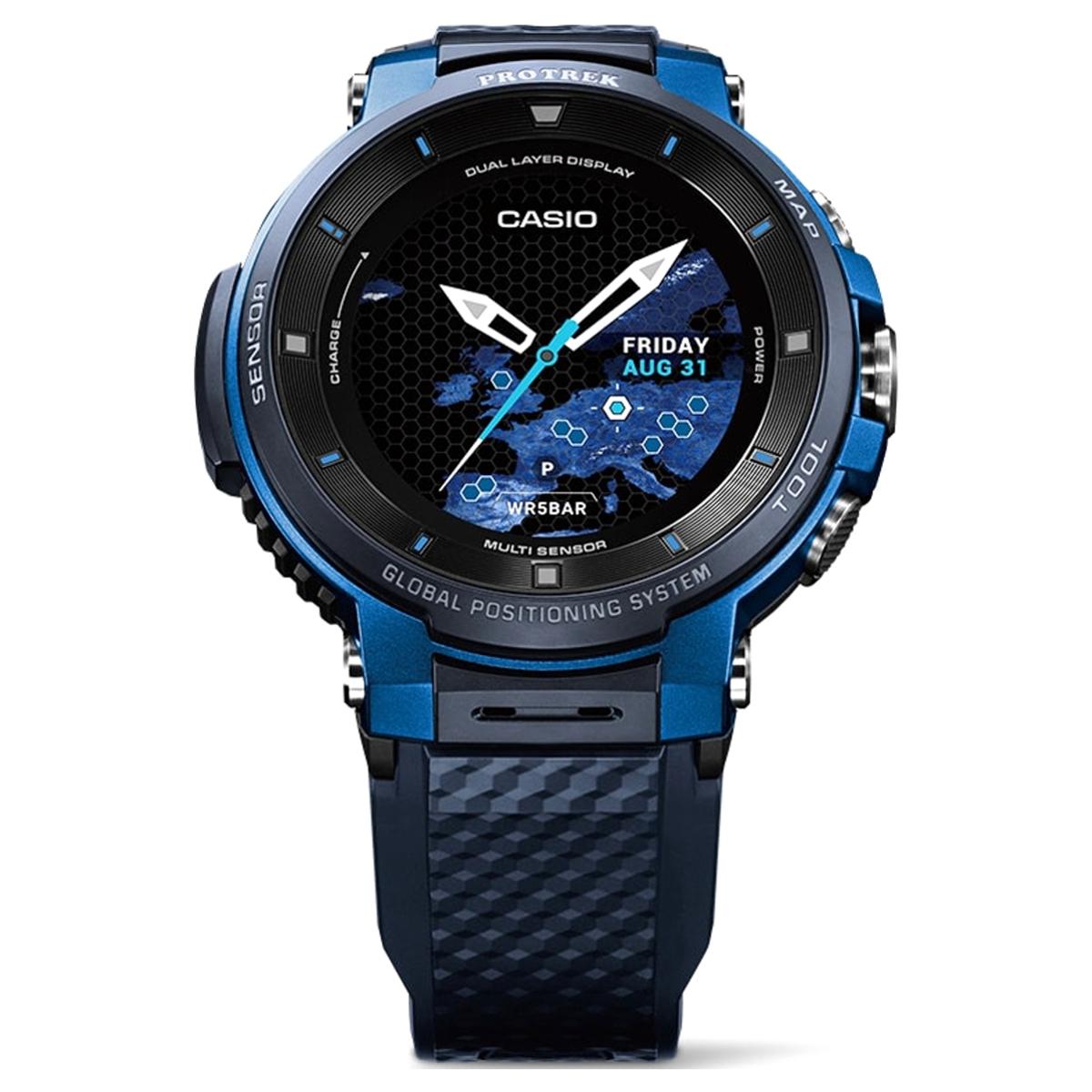 カシオ 腕時計 スマートウォッチ PRO TREK Smart WSD-F30-BU ブルー(東日本店)【同梱不可】