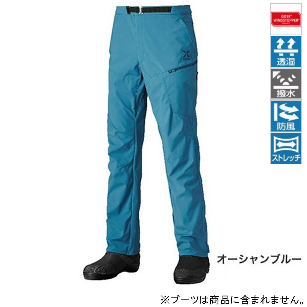シマノ XEFO GORE WINDSTOPPER ボトム PA-241R L オーシャンブルー(東日本店)