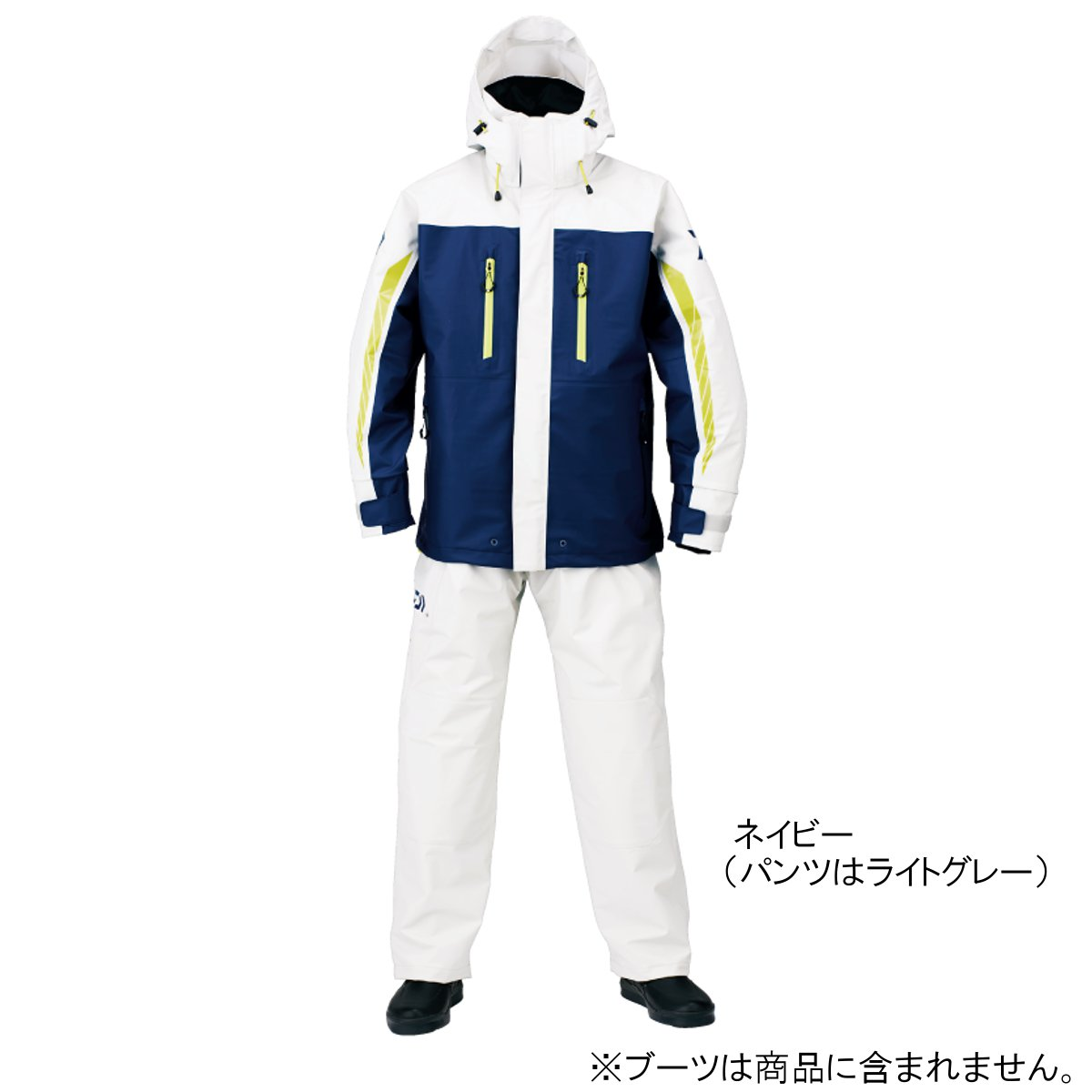 ダイワ PUオーシャンサロペットレインスーツ DR-6007 S ネイビー(東日本店)