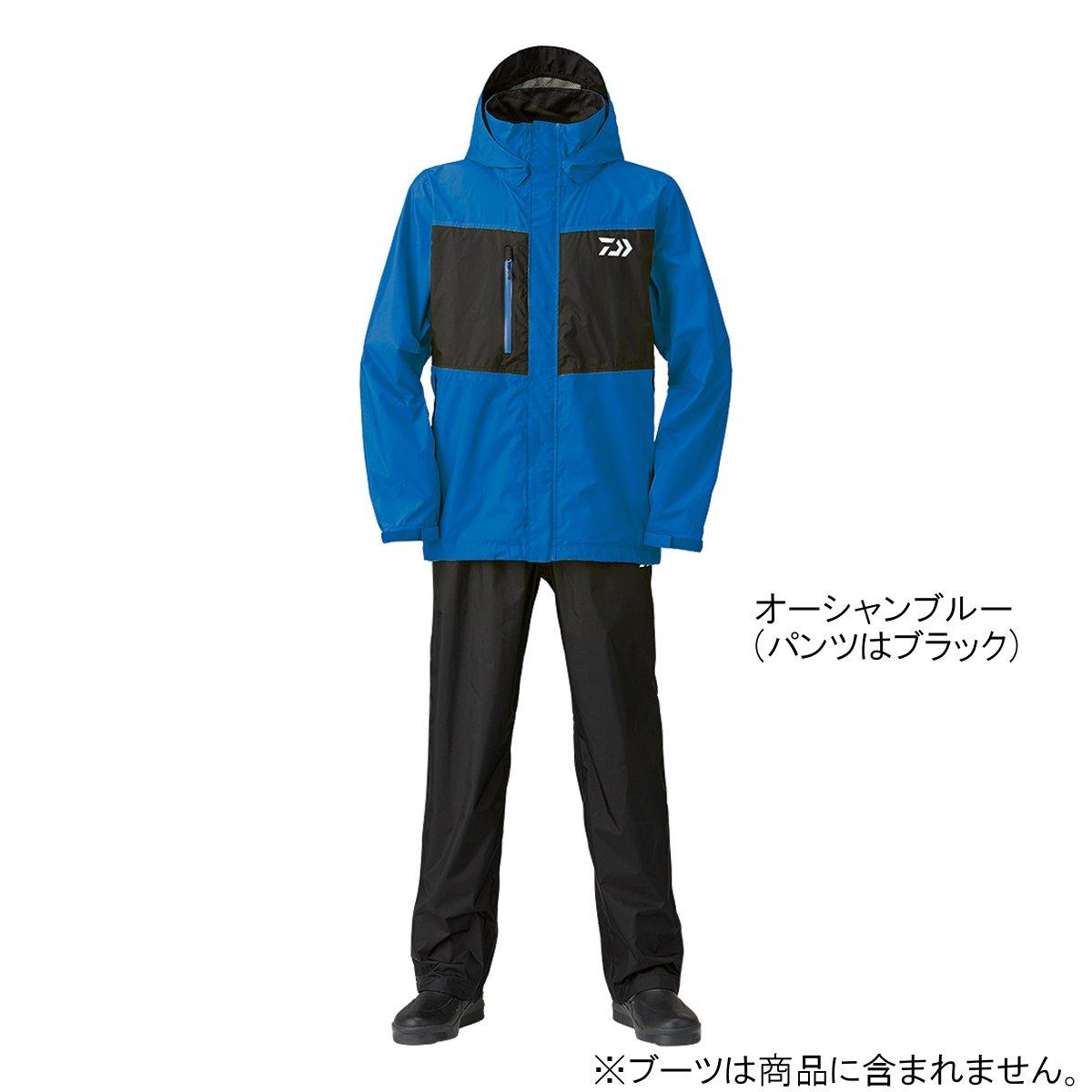ダイワ レインマックス レインスーツ DR-36008 L オーシャンブルー(東日本店)