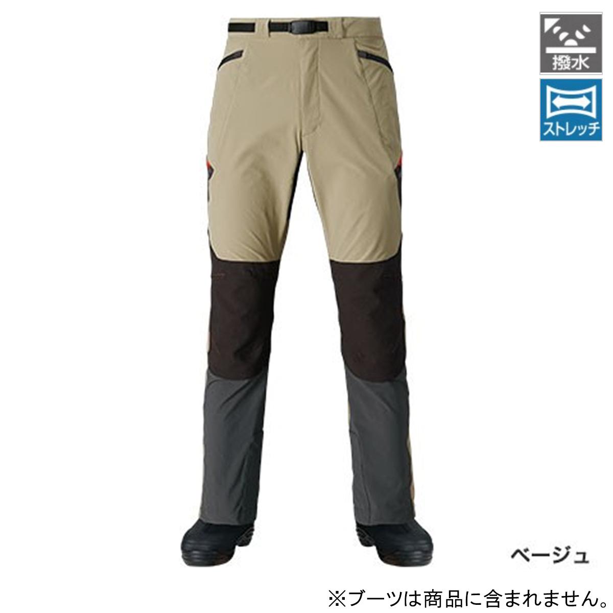 シマノ 撥水ストレッチパンツ PA-041P XL ベージュ(東日本店)