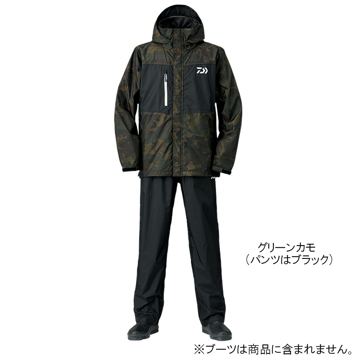 ダイワ レインマックス レインスーツ DR-36008 XL グリーンカモ(東日本店)