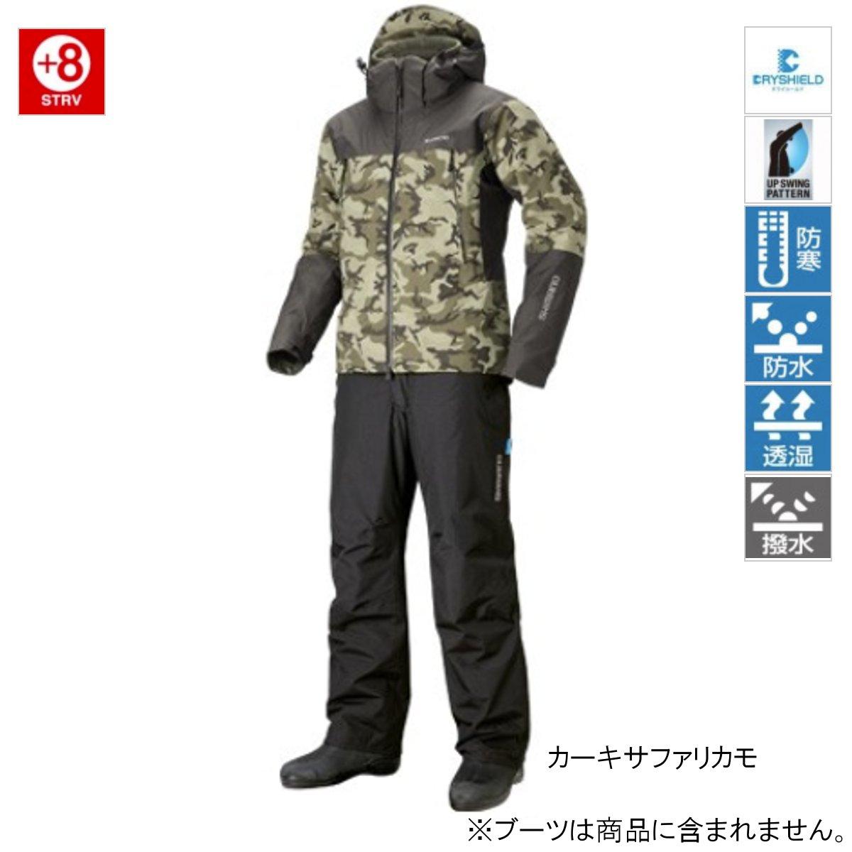 シマノ DSアドバンスウォームスーツ RB-025R XL カーキサファリカモ(東日本店)