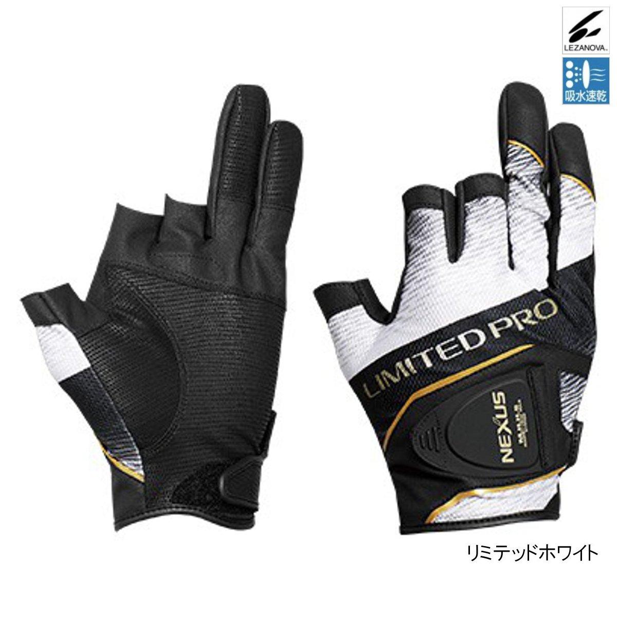 シマノ NEXUS・レザノヴァプリントグローブ3 LIMITED PRO GL-141S L リミテッドホワイト(東日本店)
