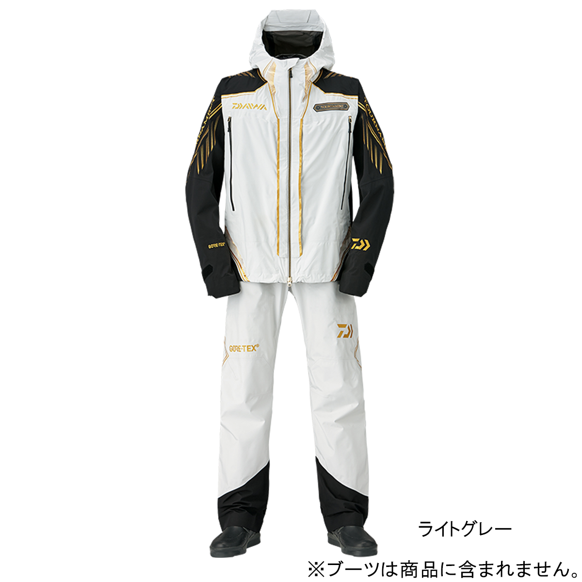 ダイワ トーナメント ゴアテックス パックライト レインスーツ DR-1008T XL ライトグレー(東日本店)
