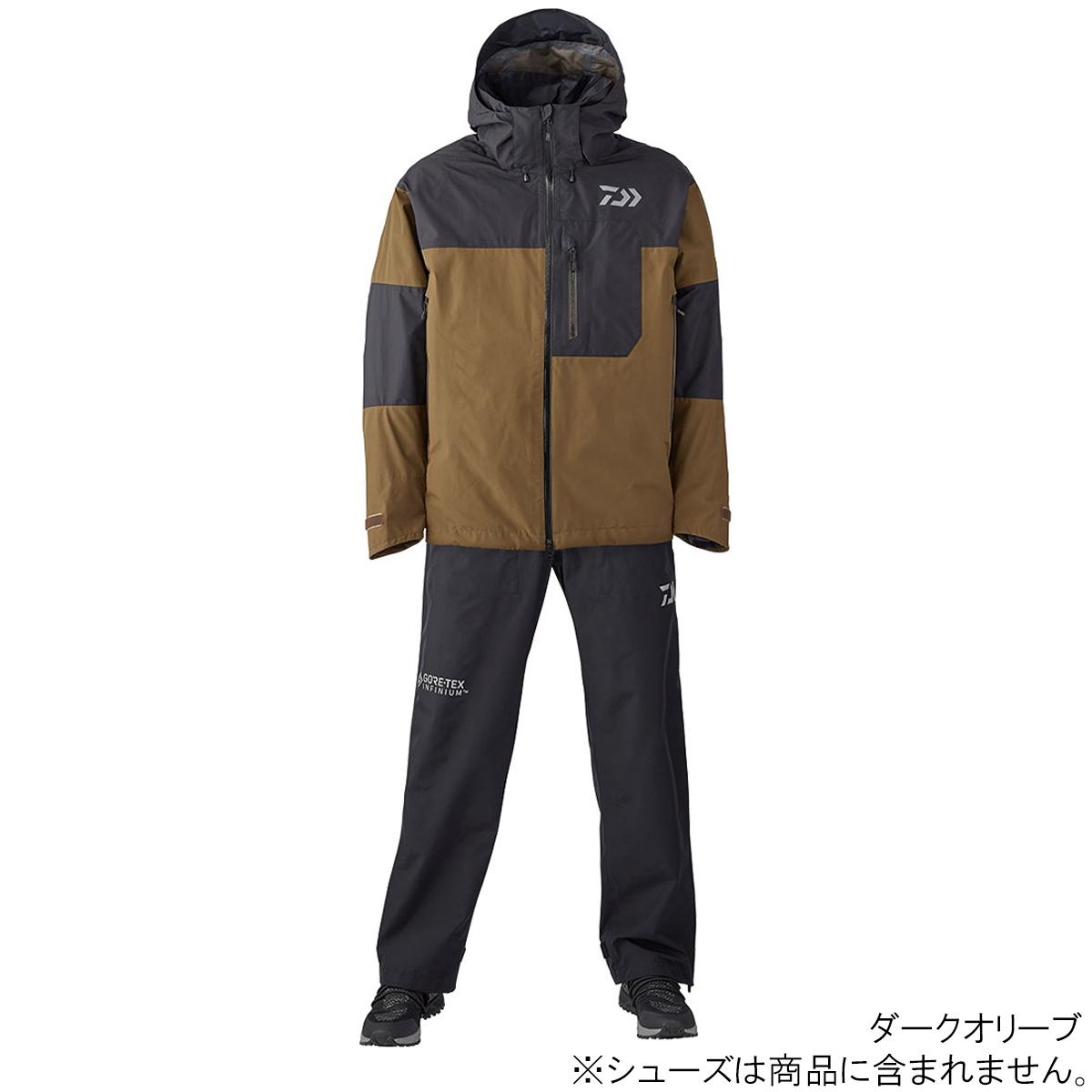 ダイワ ゴアテックス インフィニアム プロダクト レインスーツ DR-19020 XL ダークオリーブ(東日本店)