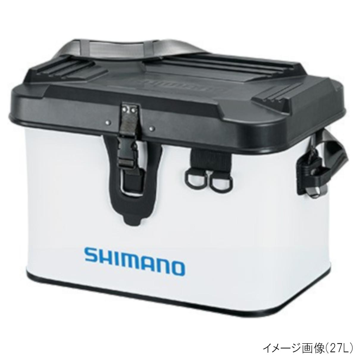 シマノ タックルボートバッグ(ハードタイプ) BK-001T 22L ホワイト(東日本店)