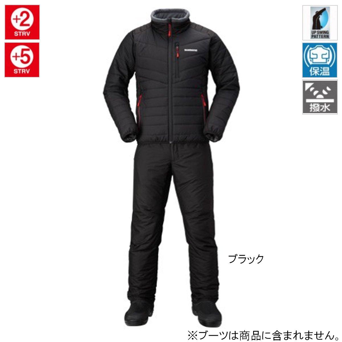 シマノ ベーシック インシュレーション スーツ MD-055Q 2XL ブラック(東日本店)