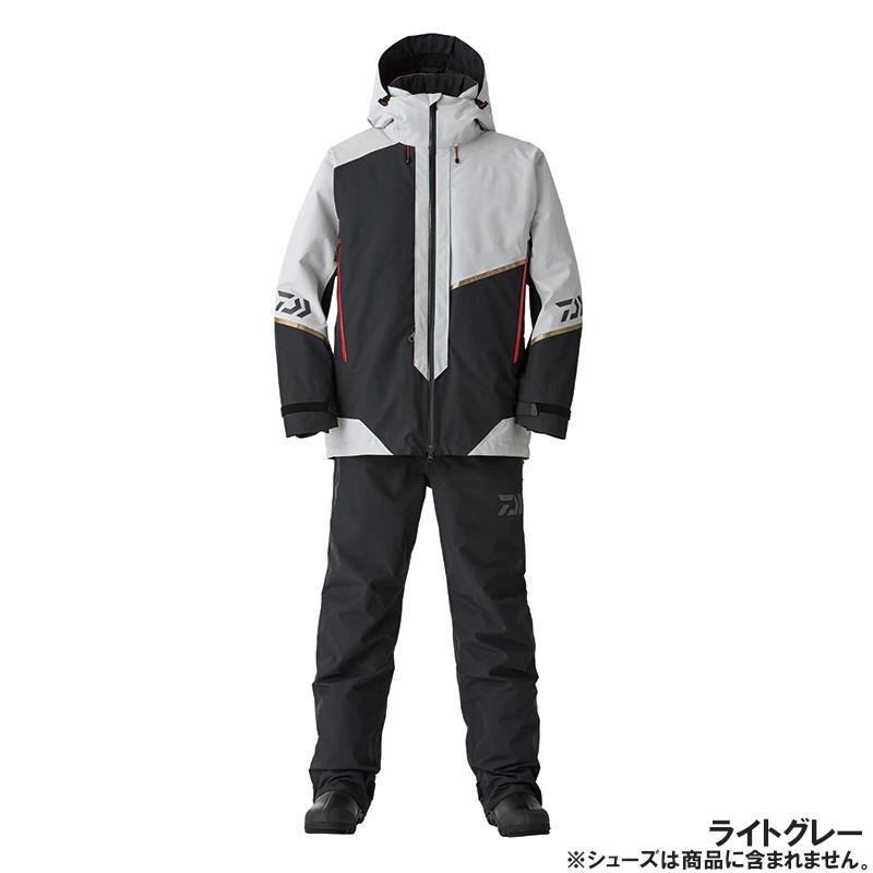 ダイワ DW-1820 ゴアテックス プロダクト コンビアップ ウィンタースーツ XL ライトグレー(東日本店)