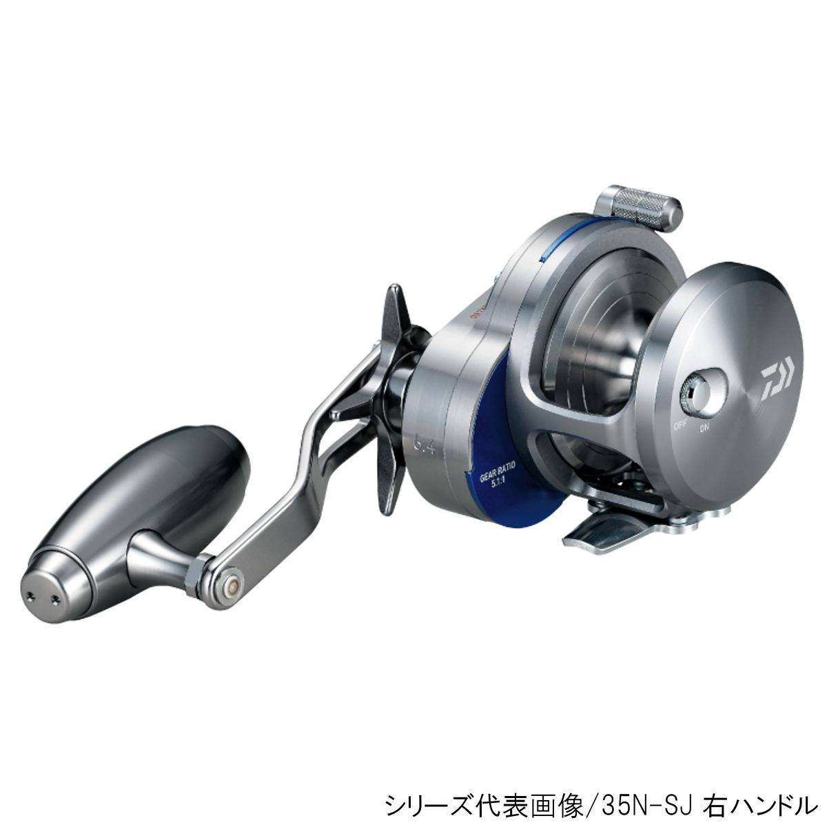 ダイワ ソルティガ(ベイトキャスティングモデル) 35NHL-SJ 左ハンドル(東日本店)【同梱不可】