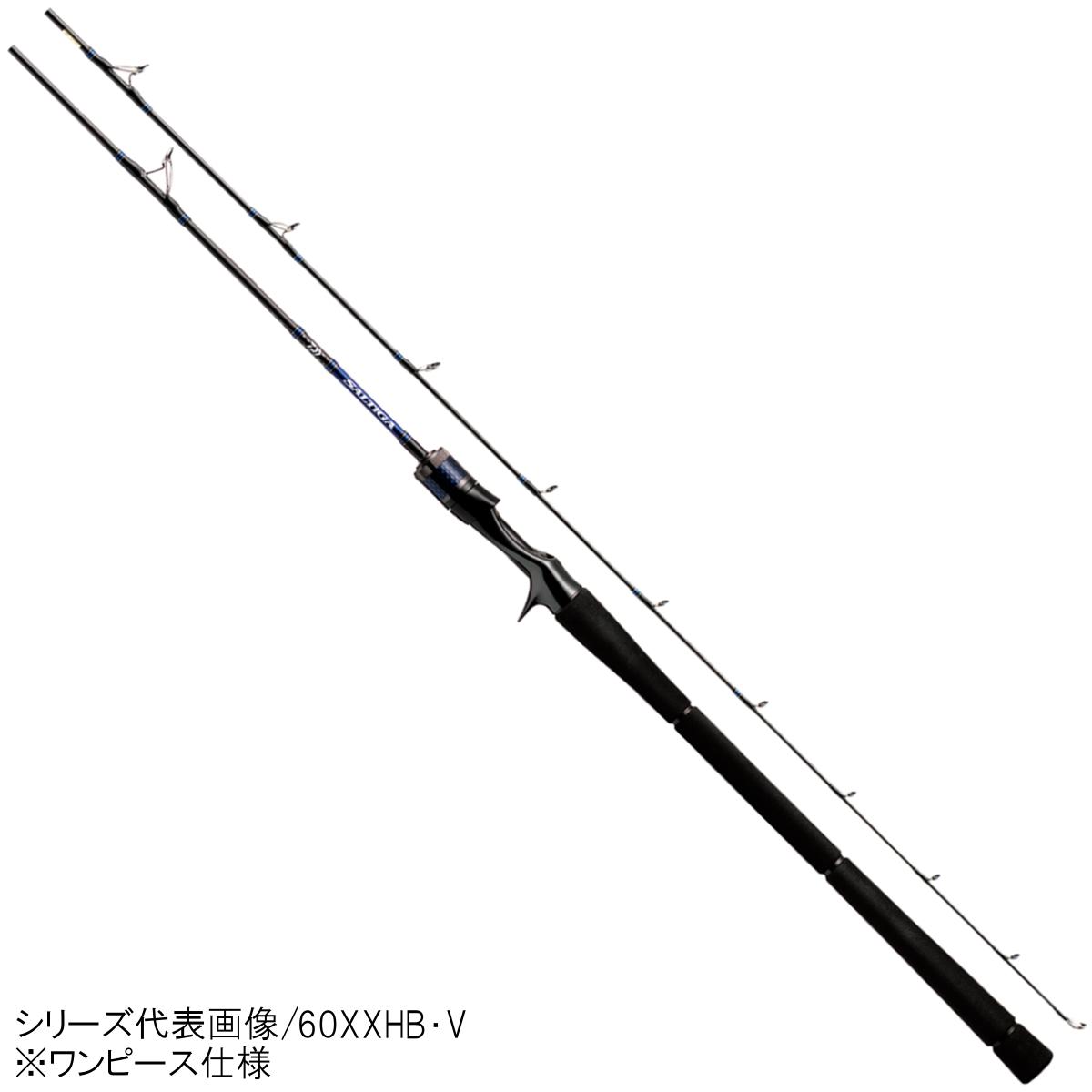 ダイワ ソルティガ BJ ハイレスポンス 62XHB・V【大型商品】(東日本店)