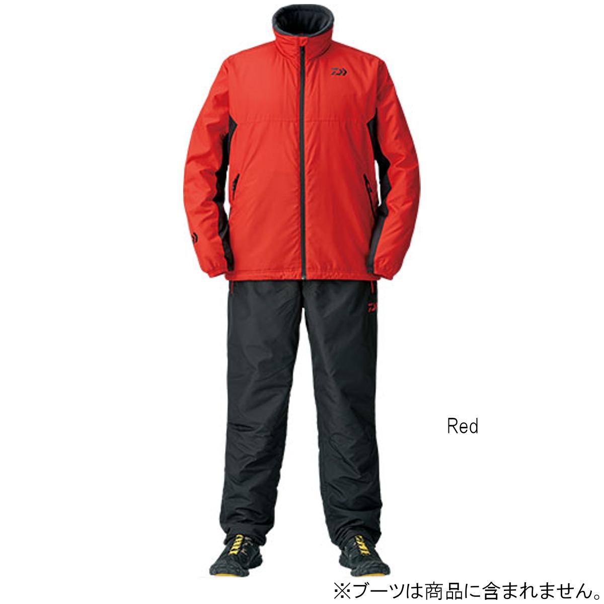 ダイワ ウォームアップスーツ DI-52008 L Red(東日本店)