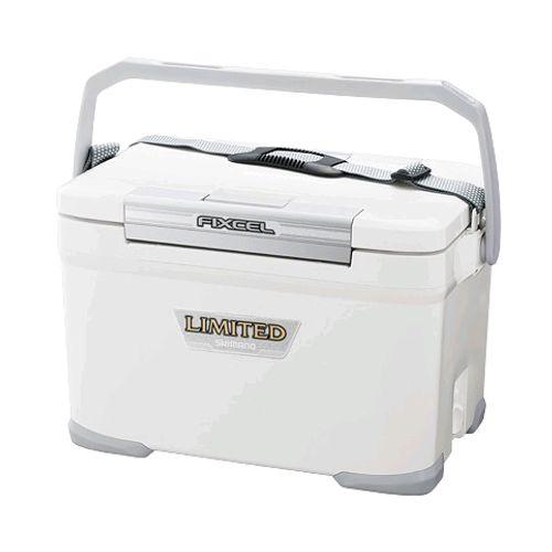 シマノ フィクセル リミテッド 220 HF-022N ピュアホワイト クーラーボックス(東日本店)【6co01】【同梱不可】