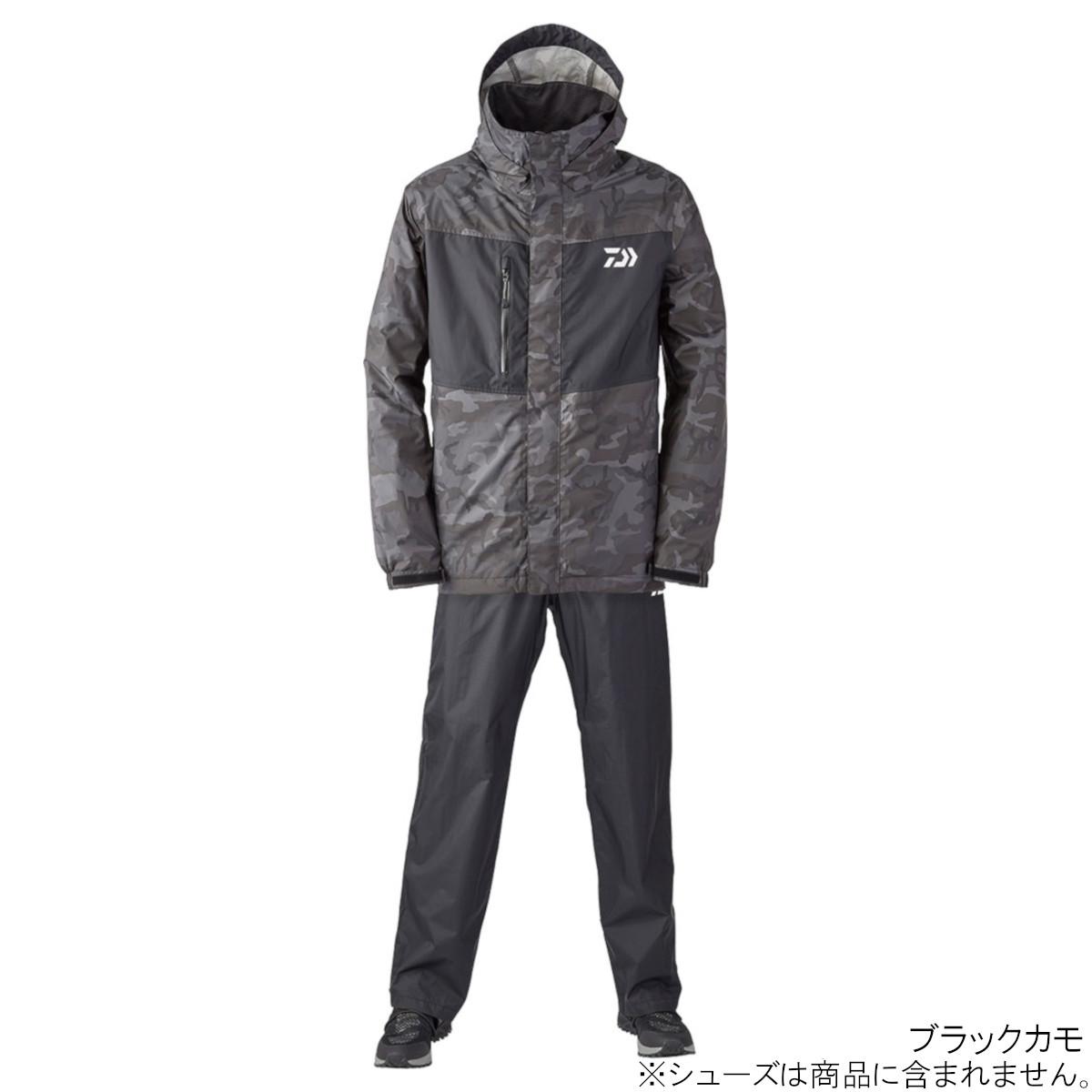 ダイワ レインマックス レインスーツ DR-36008 XL ブラックカモ(東日本店)