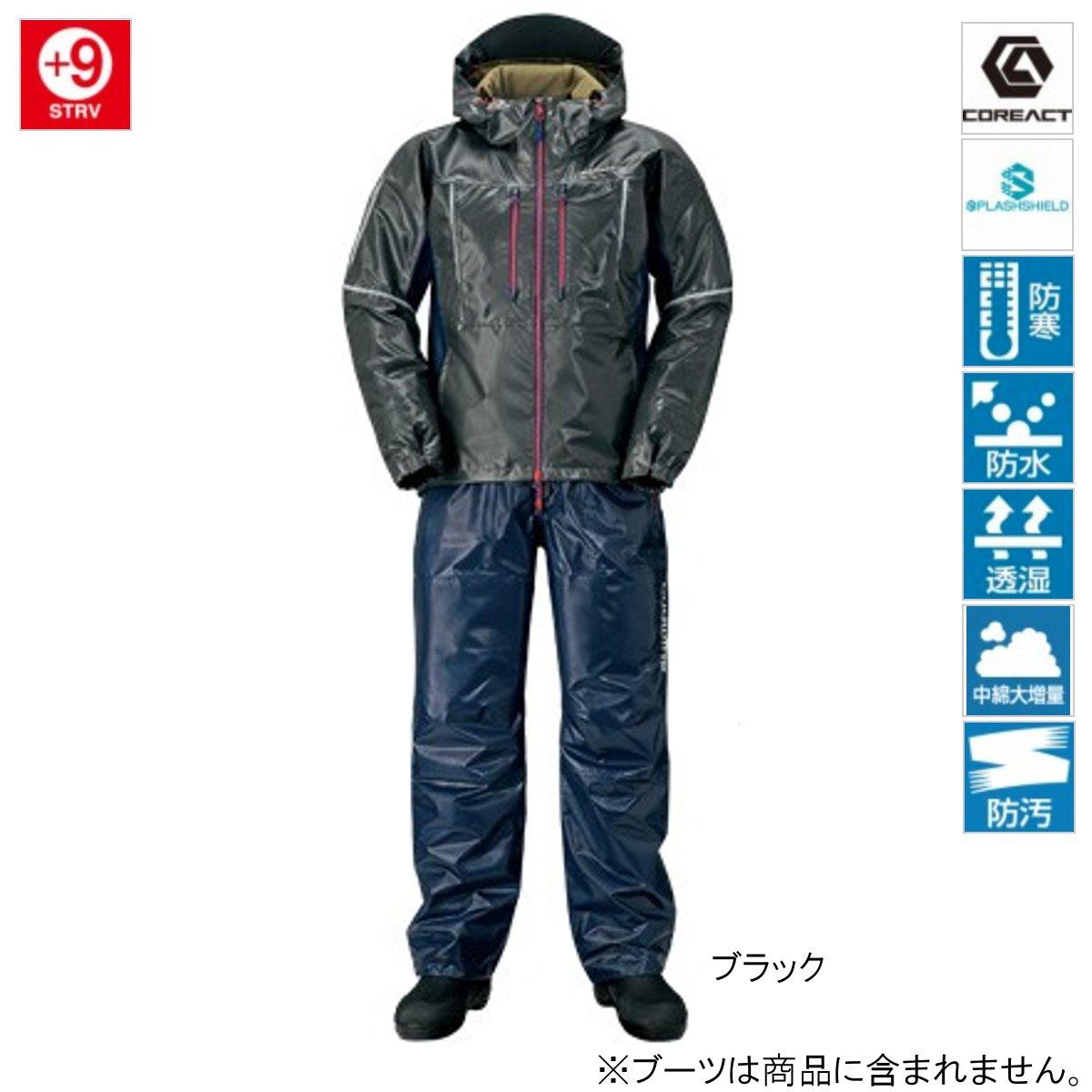 シマノ SS・3Dマリンコールドウェザースーツ RB-033R L ブラック(東日本店)