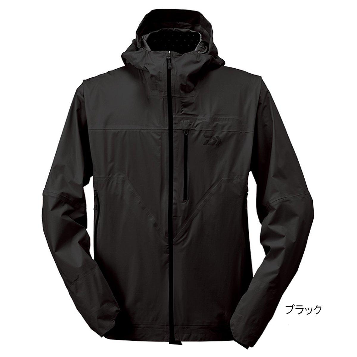 ダイワ レインマックス ポケッタブルレインジャケット DR-32009J M ブラック(東日本店)