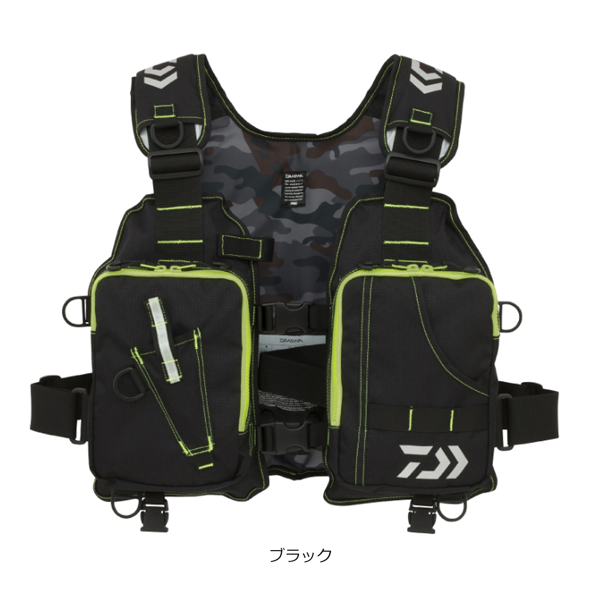 ダイワ ライトフロートゲームベスト DF-6406 フリー ブラック(東日本店)