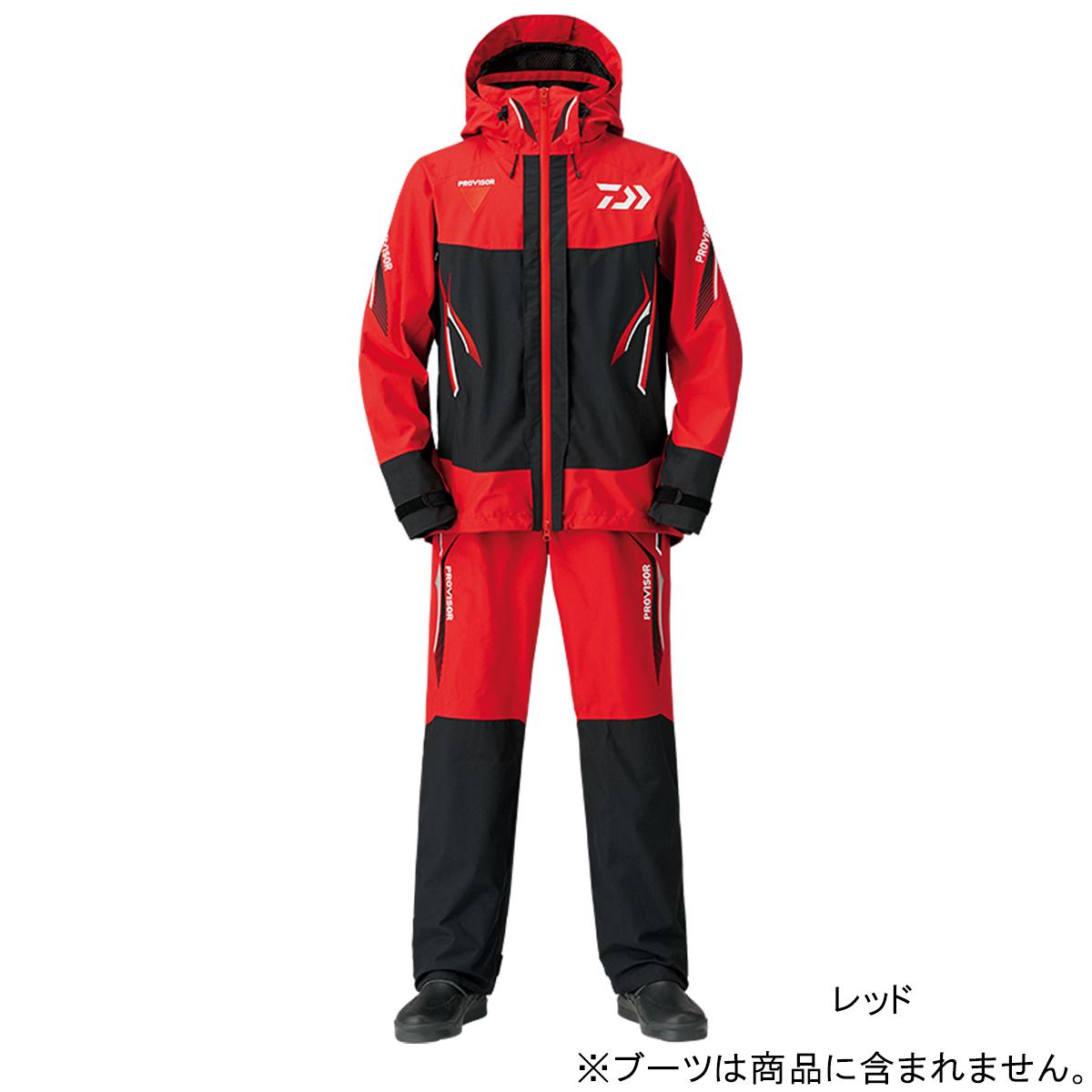 ダイワ プロバイザー ゴアテックス プロダクト コンビアップレインスーツ DR-1508 L レッド(東日本店)