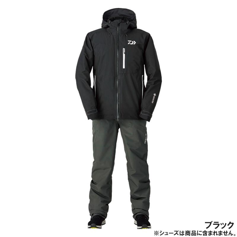 ダイワ DW-1920 ゴアテックス プロダクト ウィンタースーツ 2XL ブラック(東日本店)