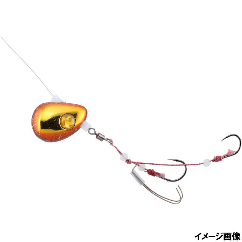 ご予約品 超人気 ジャッカル ビンビンテンヤ鯛夢遊動 13号 エビオレンジ ゴールド