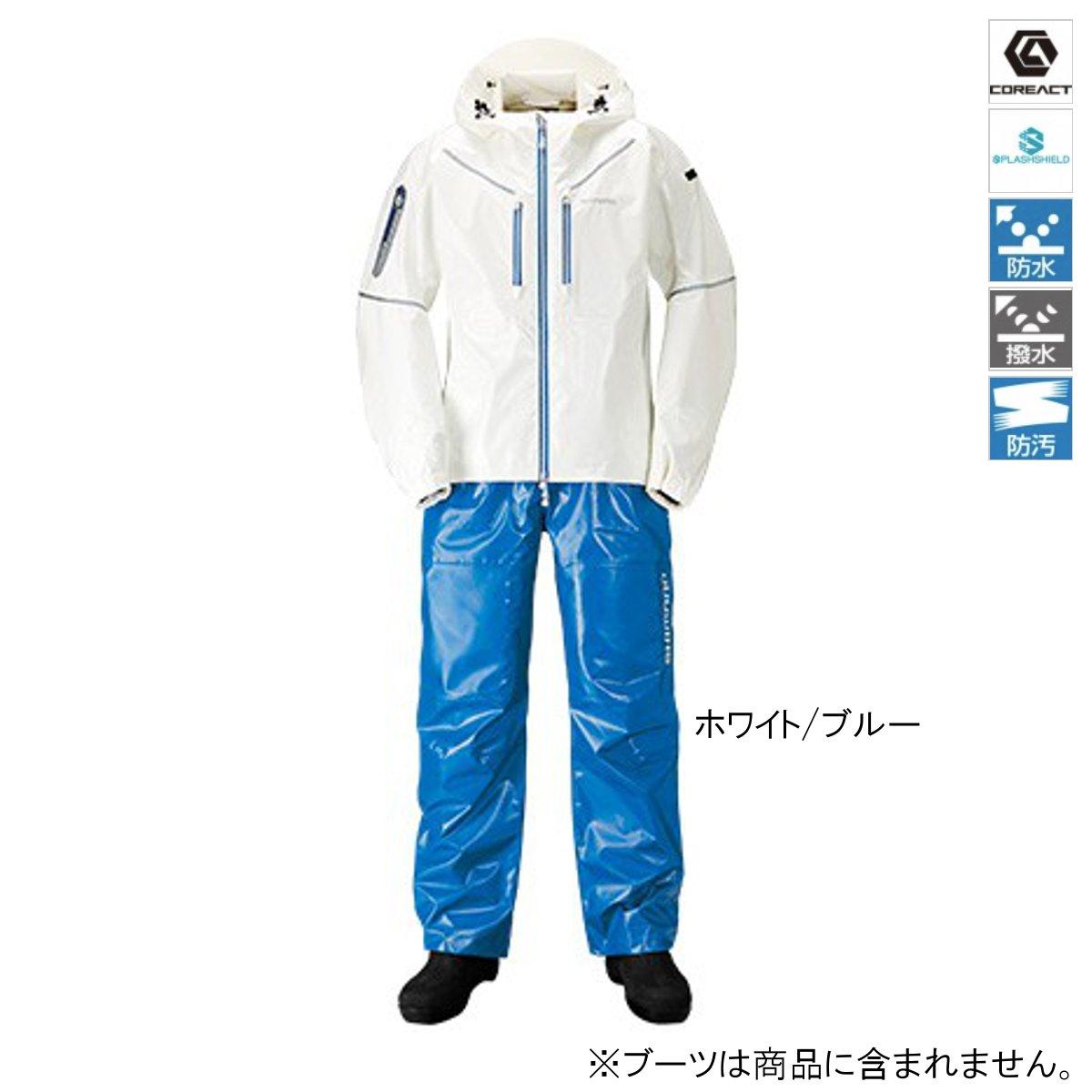 【8/1-2は夏の陣!最大P47倍!】シマノ SS・3Dマリンスーツ RA-033R XL ホワイト/ブルー(東日本店)